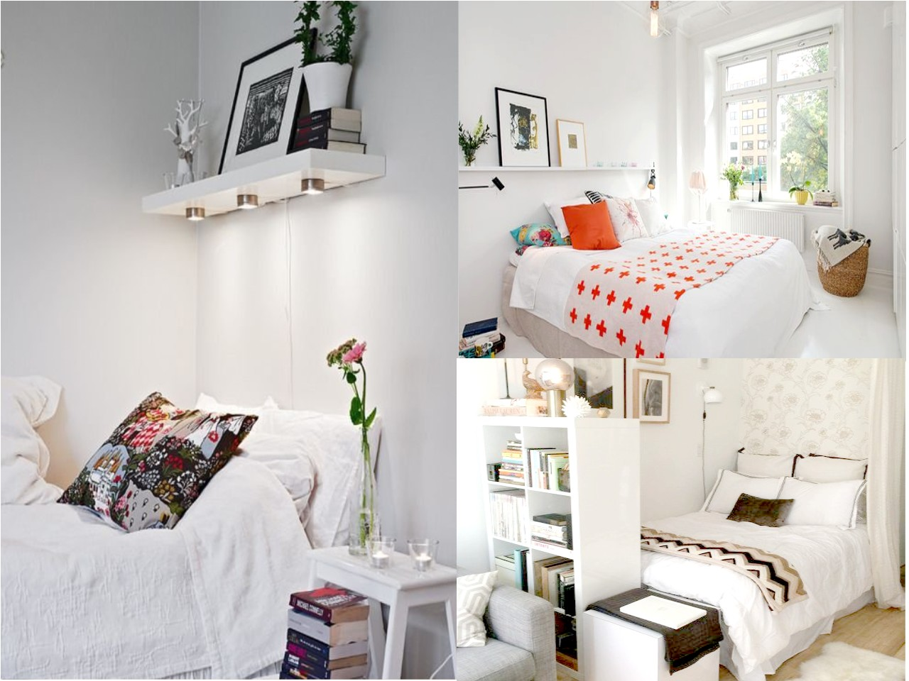 Decoraci n de habitaciones peque as en 8 pasos - Ideas para habitaciones pequenas ...