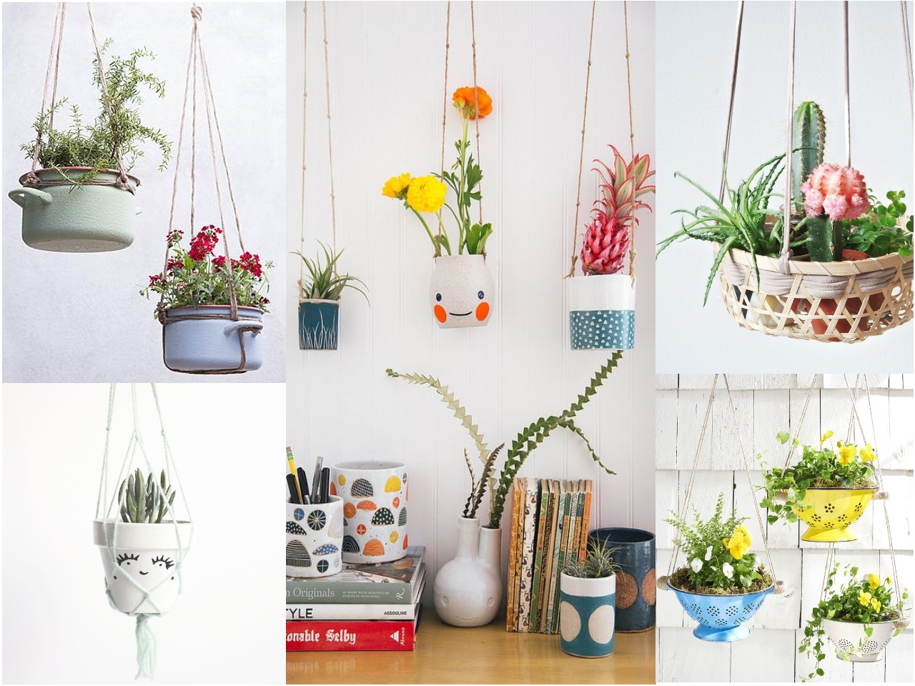 10 ideas de decoraci n con plantas colgantes - Cosas de decoracion ...