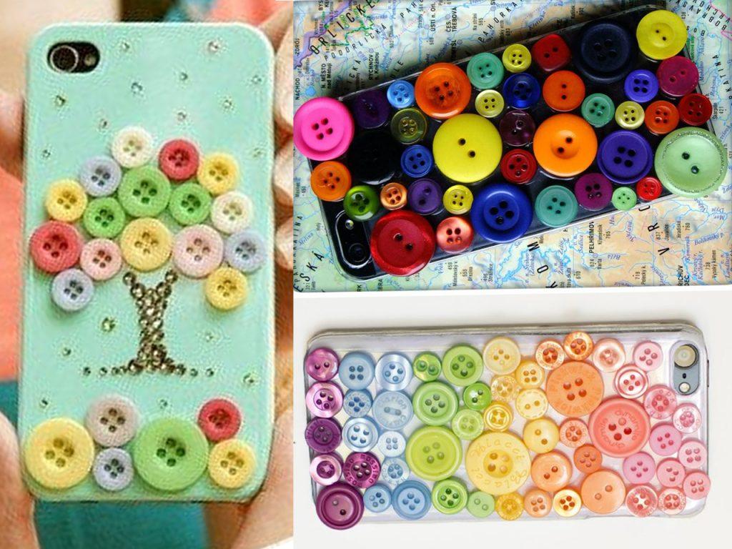M s de 150 manualidades con botones de colores - Manualidades de botones ...