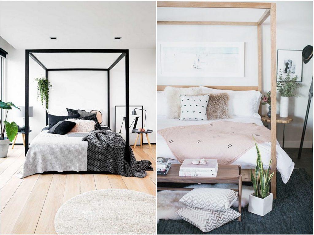 decoración dormitorios 2017 estilo colonial