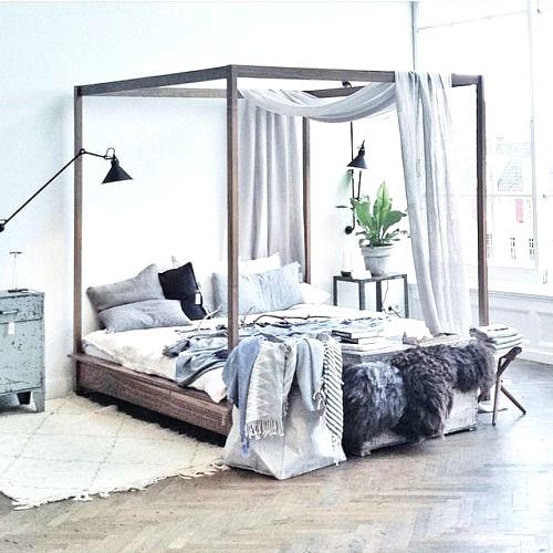 decoración dormitorios 2017 dosel