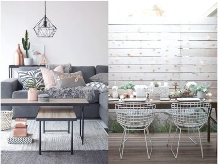 Tendencias 2016 2017 decorar con metal for Tendencia decoracion interiores 2016