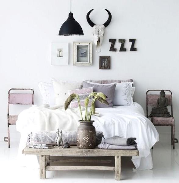 decoración dormitorios 2017 mesitas de noche originales