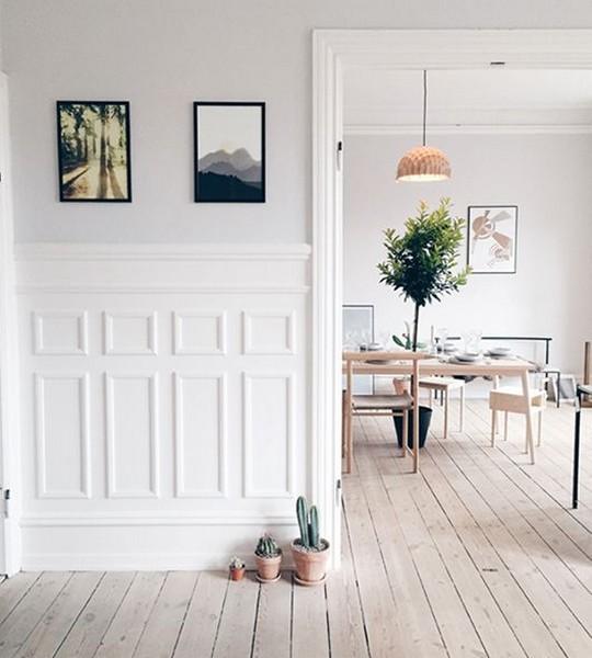 La decoraci n con molduras en casa vuelve a ser tendencia - Zocalos para paredes interiores ...