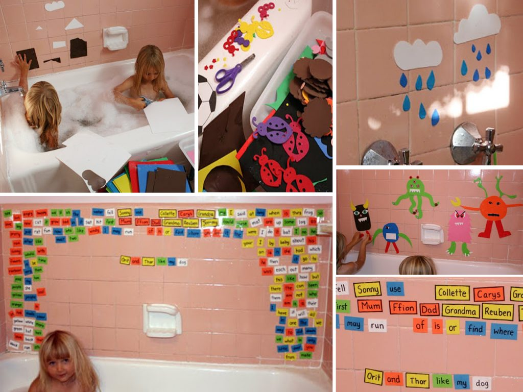 Goma eva en la bañera