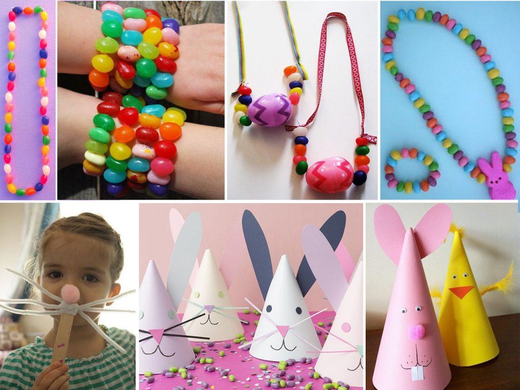 manualidades de pascua para fiestas de niños
