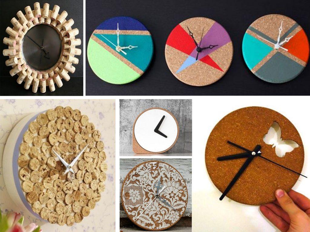 relojes de corchos