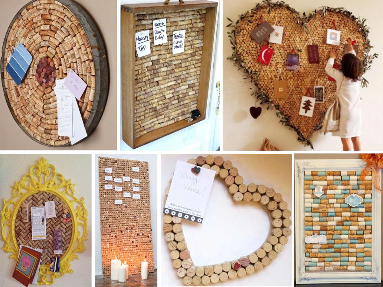 10 ideas de decoraci n con corchos que te sorprender n - Corcho para fotos ...