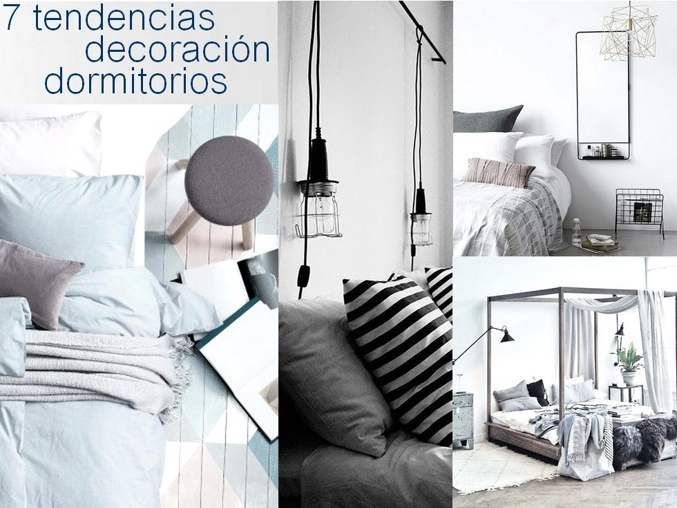 7 tendencias en decoraci n dormitorios 2017 for Blog decoracion dormitorios