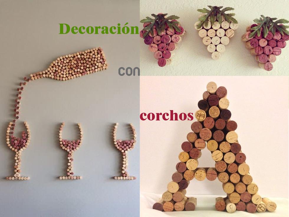 10 ideas de decoración con corchos