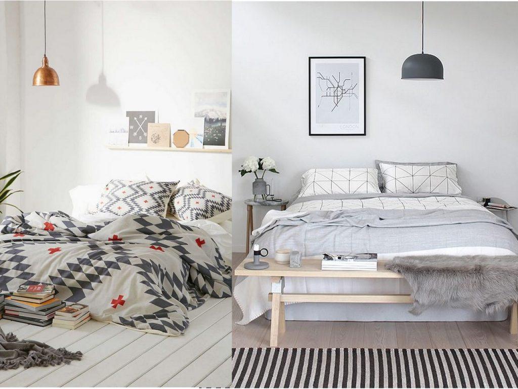decoración dormitorios 2017 camas sin cabezales