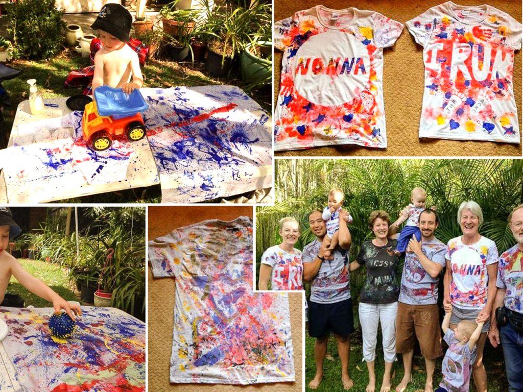 cómo hacer camisetas originales para niños