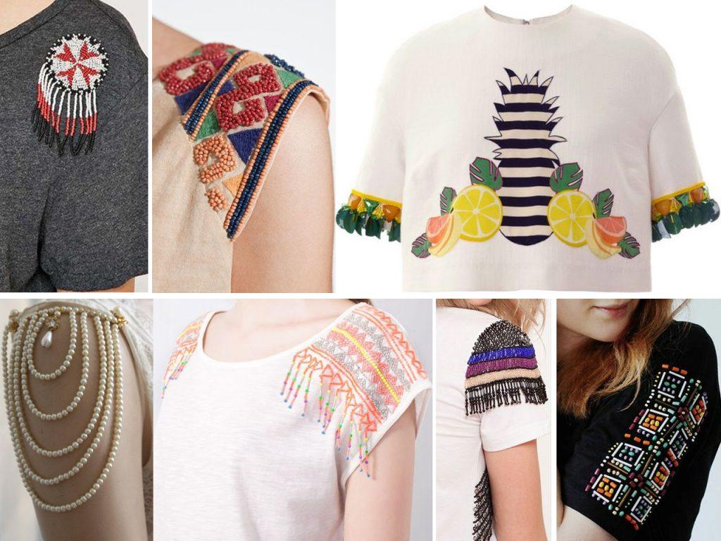 decorar mangas de camiseta