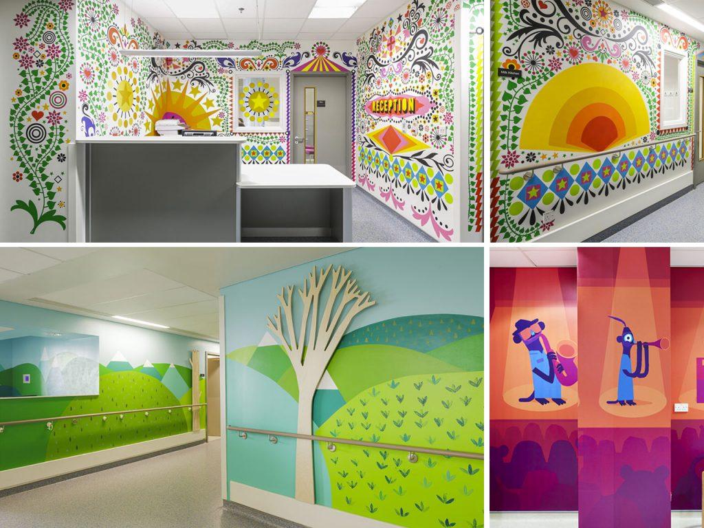pintura mural en paredes