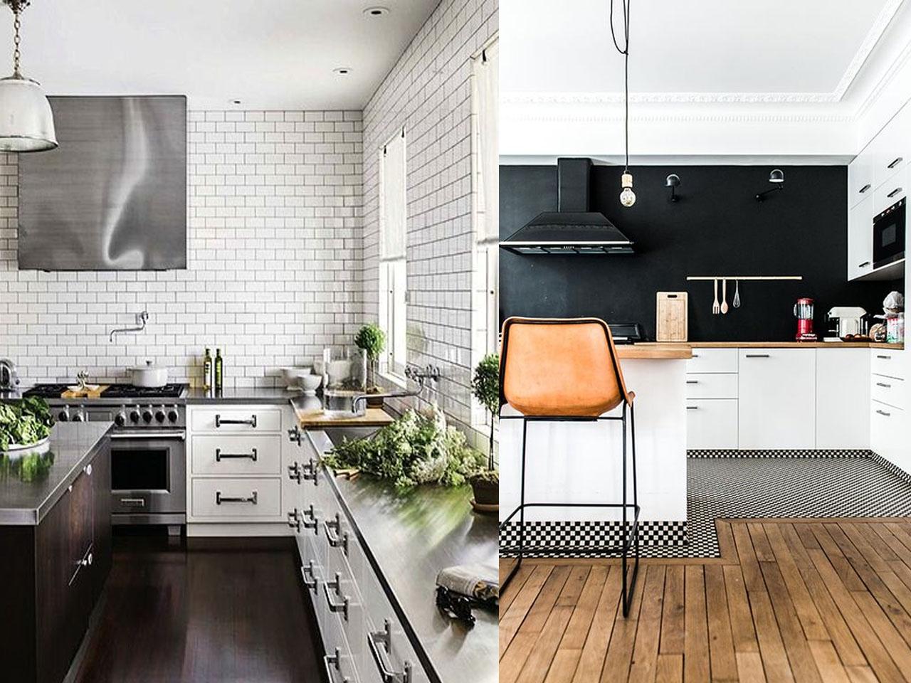 Tendencias en cocinas 2016 2017 el centro de tu hogar - Cocinas blancas y negras ...