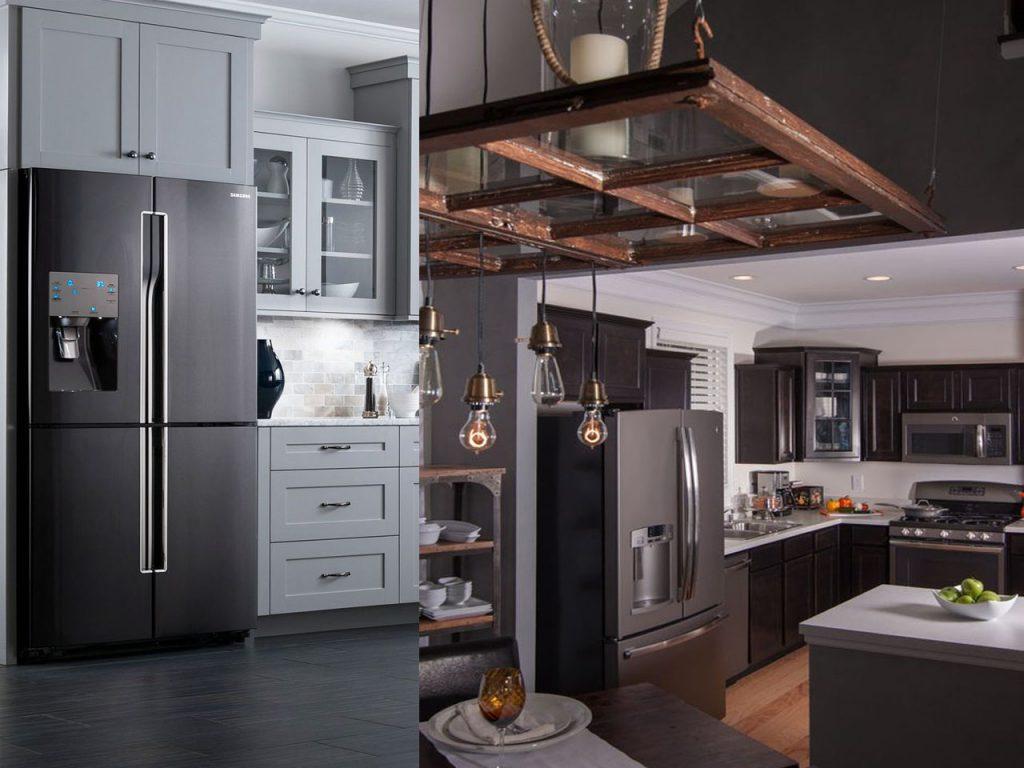 Tendencias en cocinas 2016 2017 el centro de tu hogar - Cocinas con electrodomesticos blancos ...