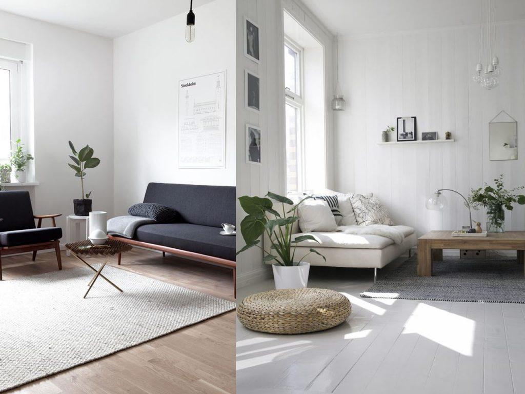 Decoraci n minimalista para el sal n de tu casa for Decoracion apartamento pequeno estilo minimalista