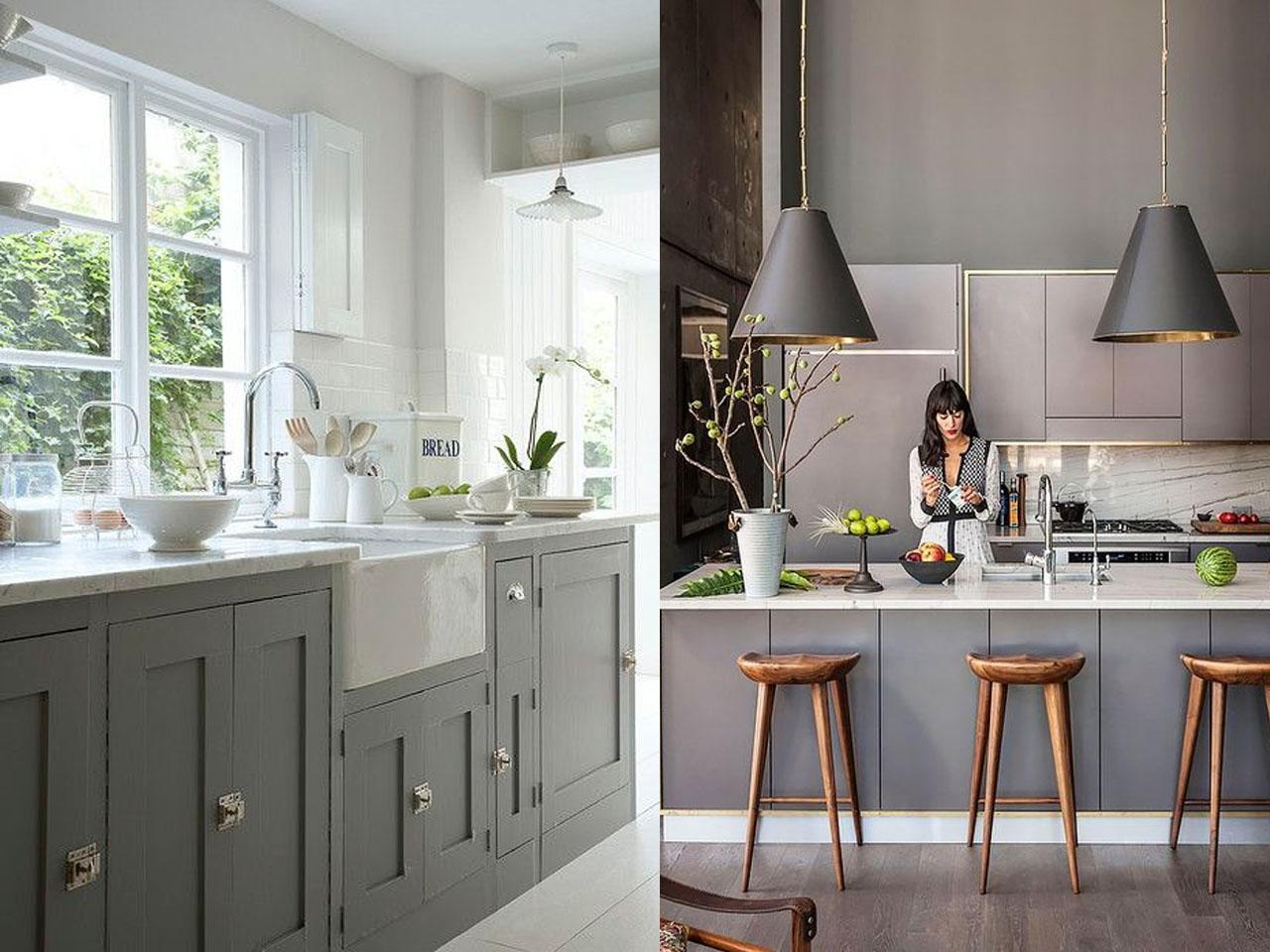 Tendencias cocinas 2017 el nuevo centro de tu hogar for Cocinas en color gris claro
