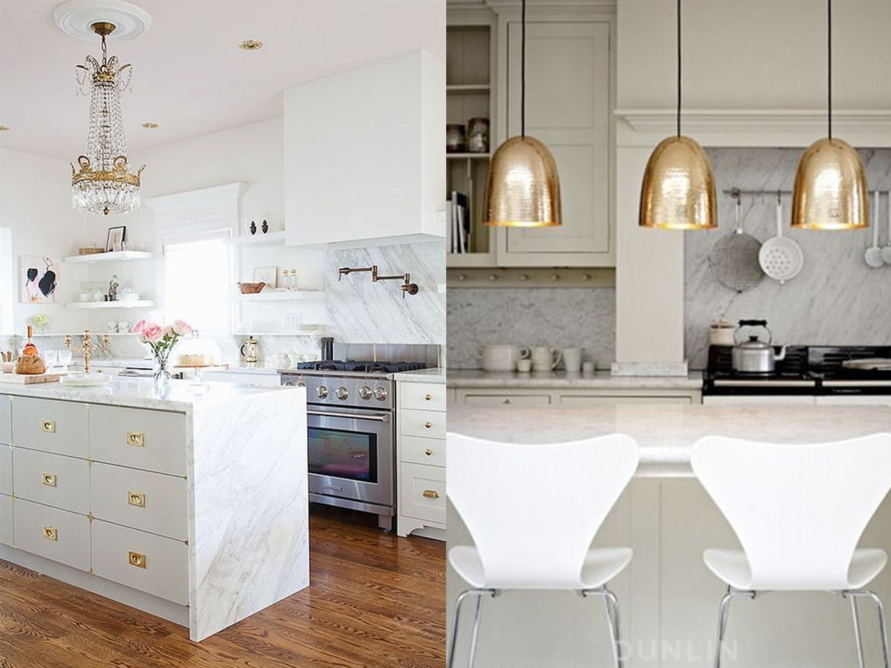 Tendencias en cocinas 2016 2017 el centro de tu hogar - Tipos de marmol para cocina ...