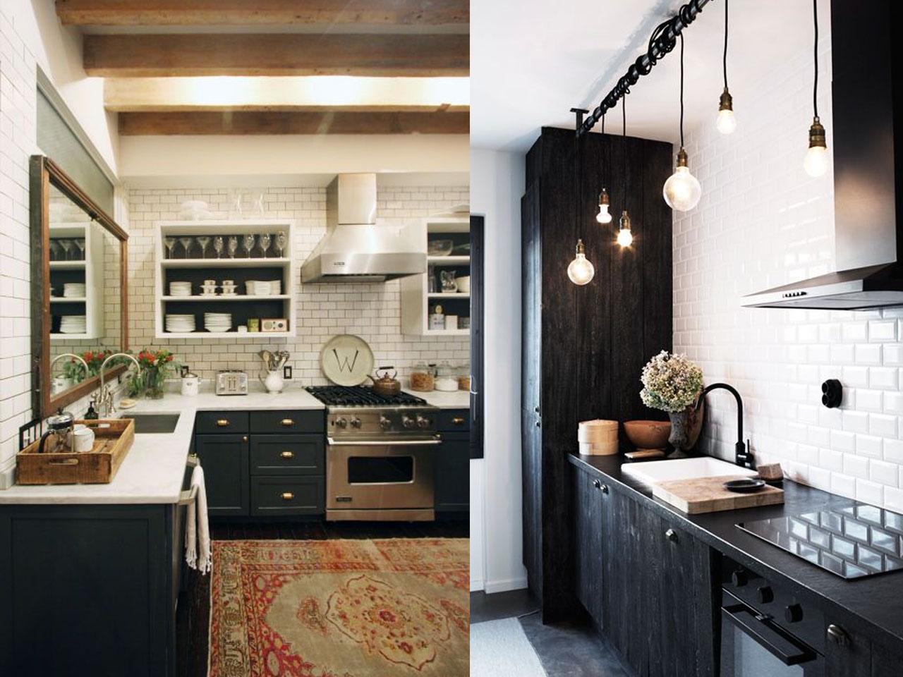 Tendencias cocinas 2017 el nuevo centro de tu hogar - Cocinas en dos colores ...