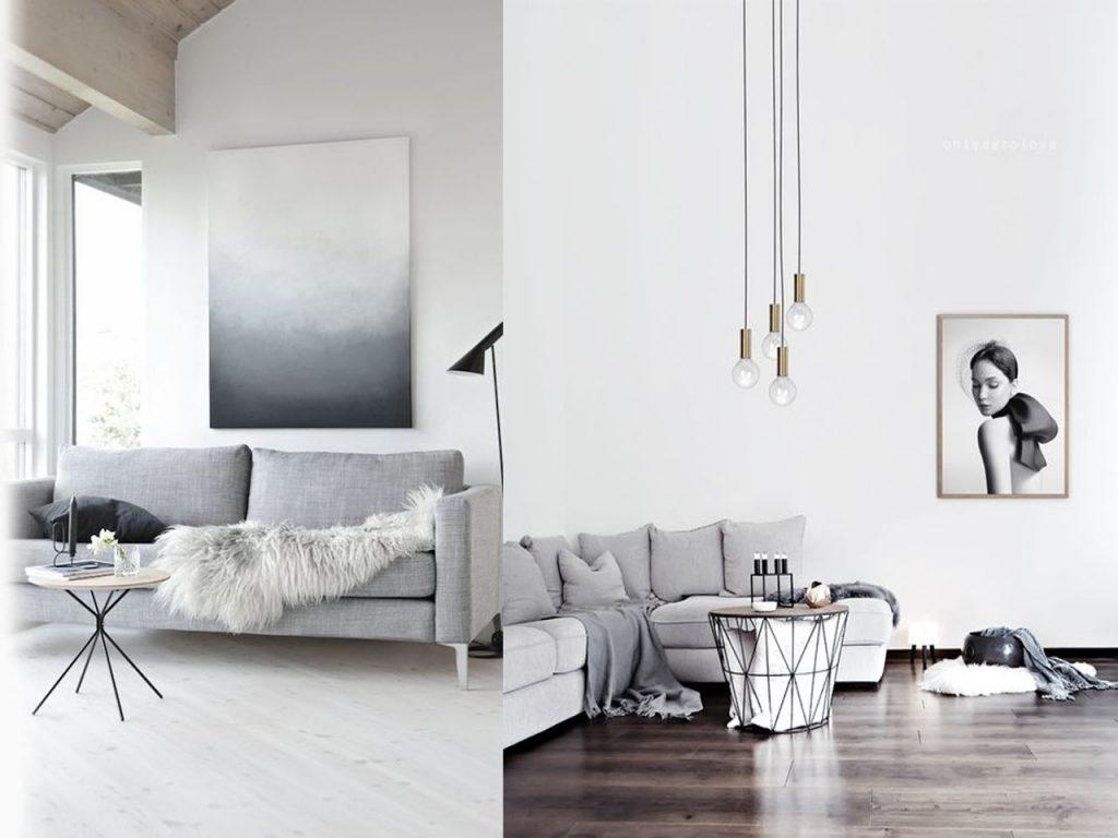 Decoraci n minimalista para el sal n de tu casa - Muebles minimalistas salon ...