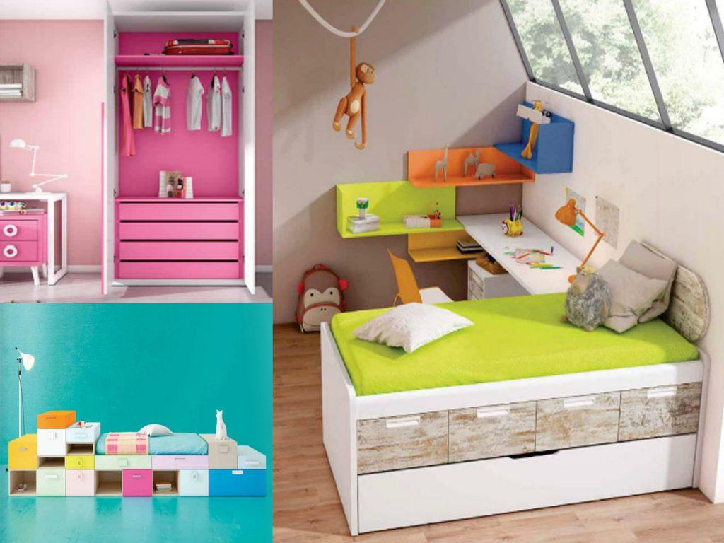 habitaciones infantiles de colores
