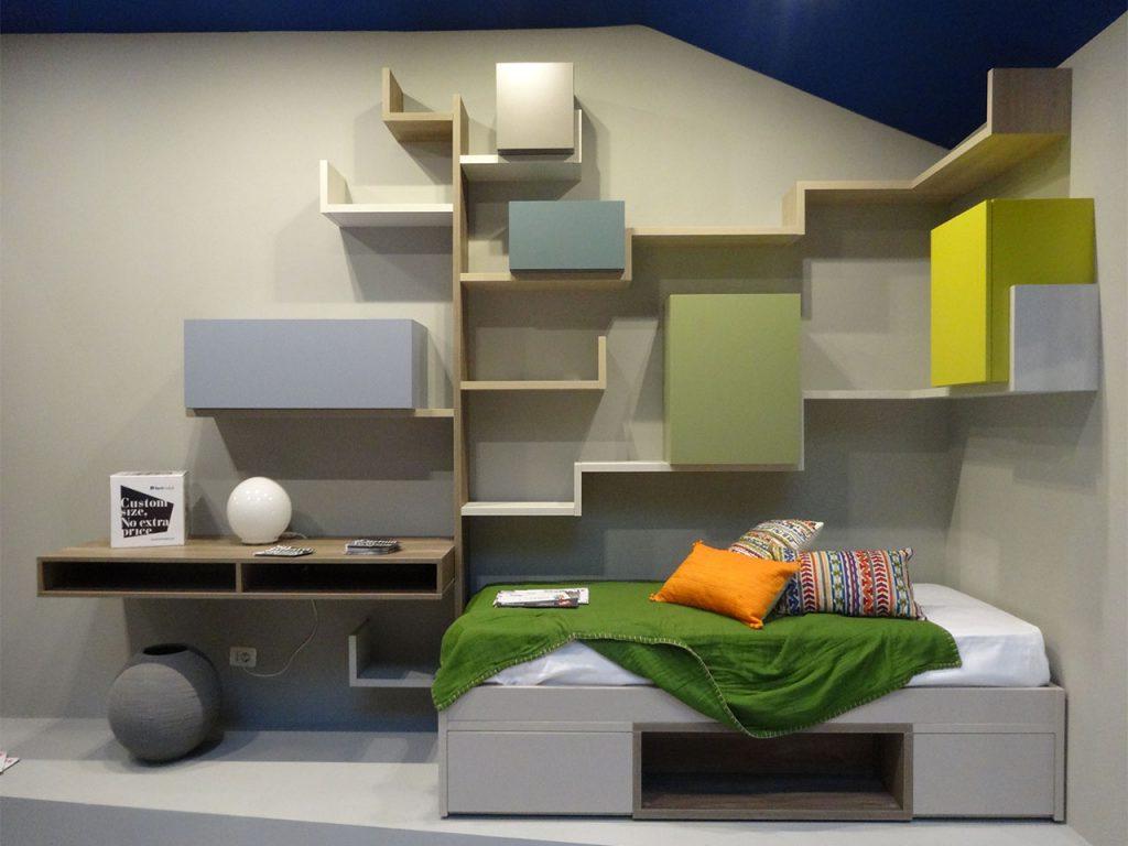 decoración habitaciones juveniles coloridas
