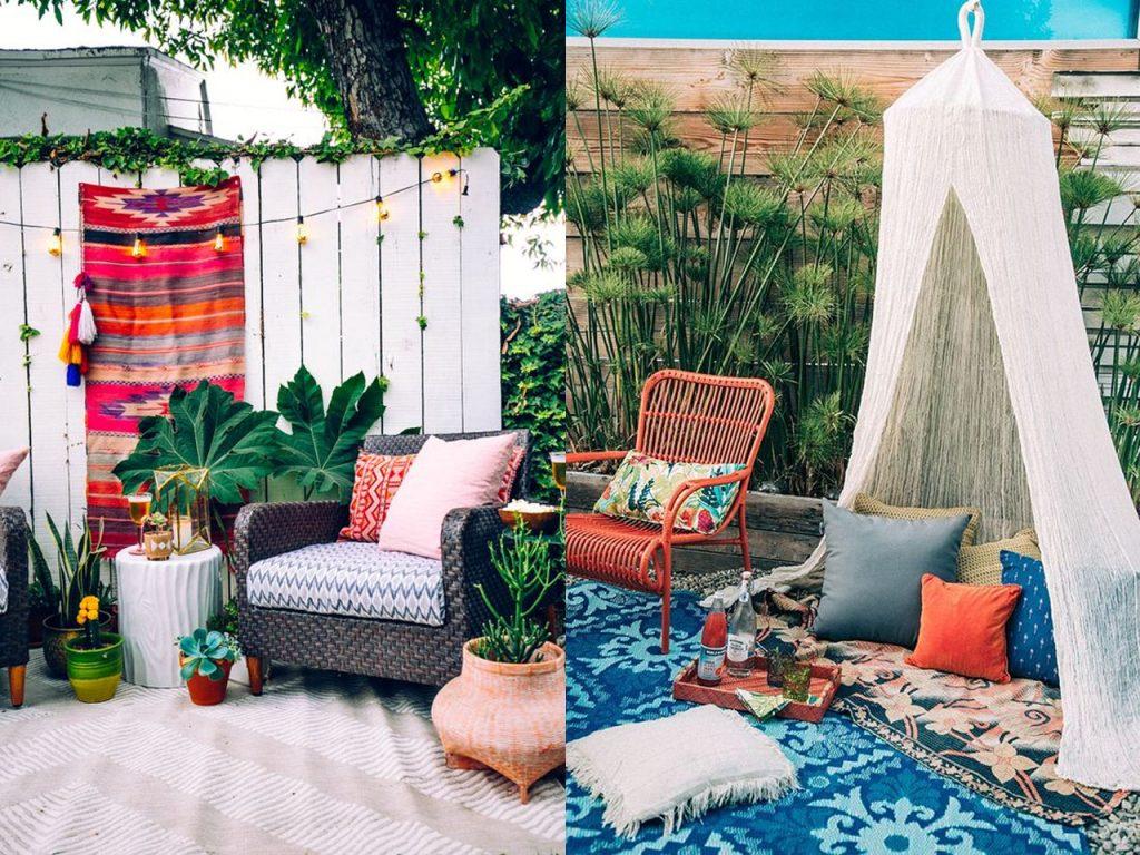 6 claves para la decoraci n de terrazas modernas boho chic - Lamparas de terraza y jardin ...