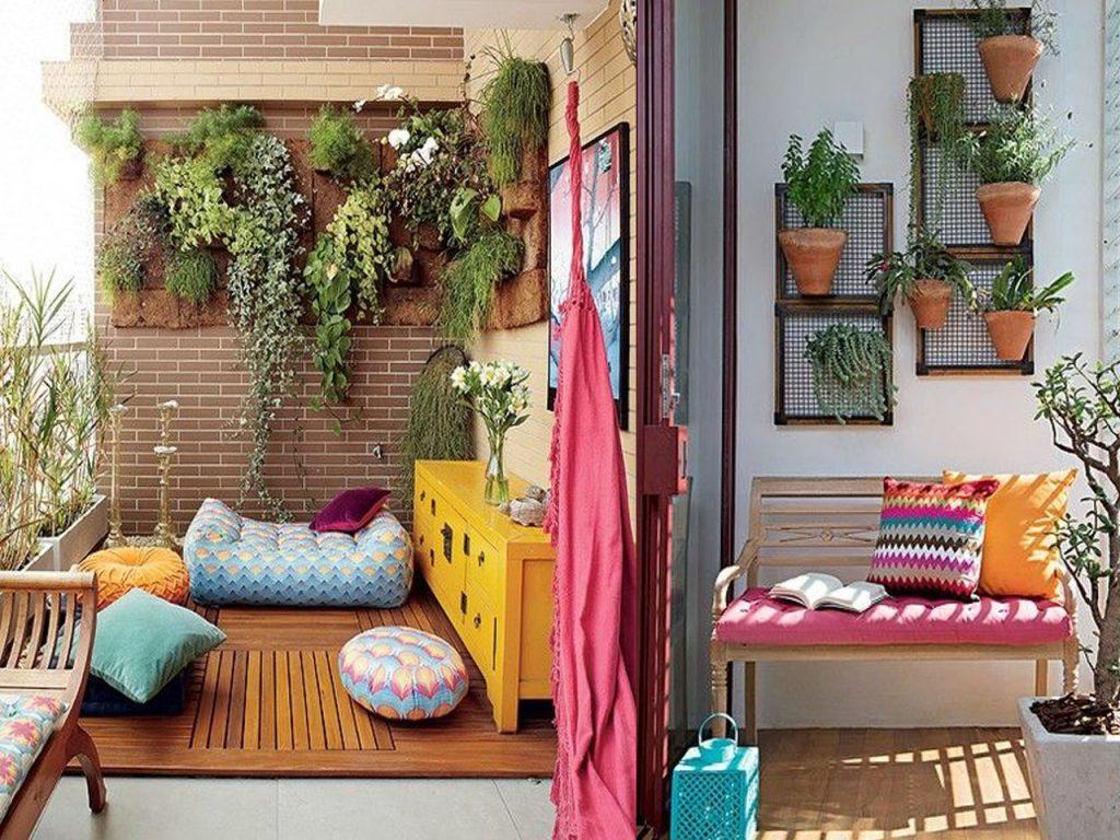 6 claves para la decoraci n de terrazas modernas boho chic Cuadros para el jardin