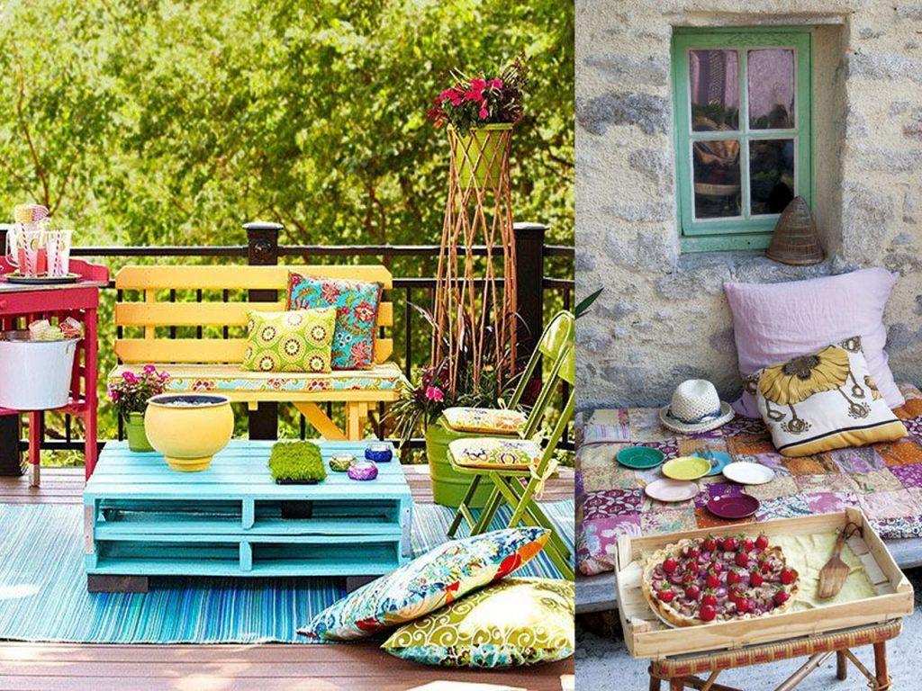 6 claves para la decoraci n de terrazas modernas boho chic - Decoracion de terrazas chill out ...