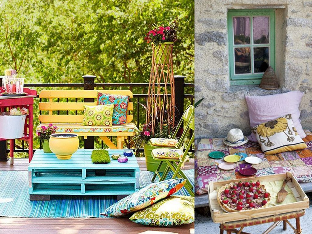 6 claves para la decoraci n de terrazas modernas boho chic - Terrazas chill out decoracion ...