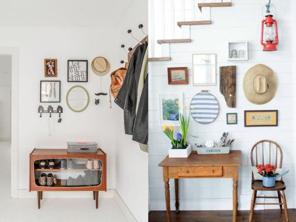 5 ideas sobre c mo decorar un recibidor peque o - Cuadros de interiores ...