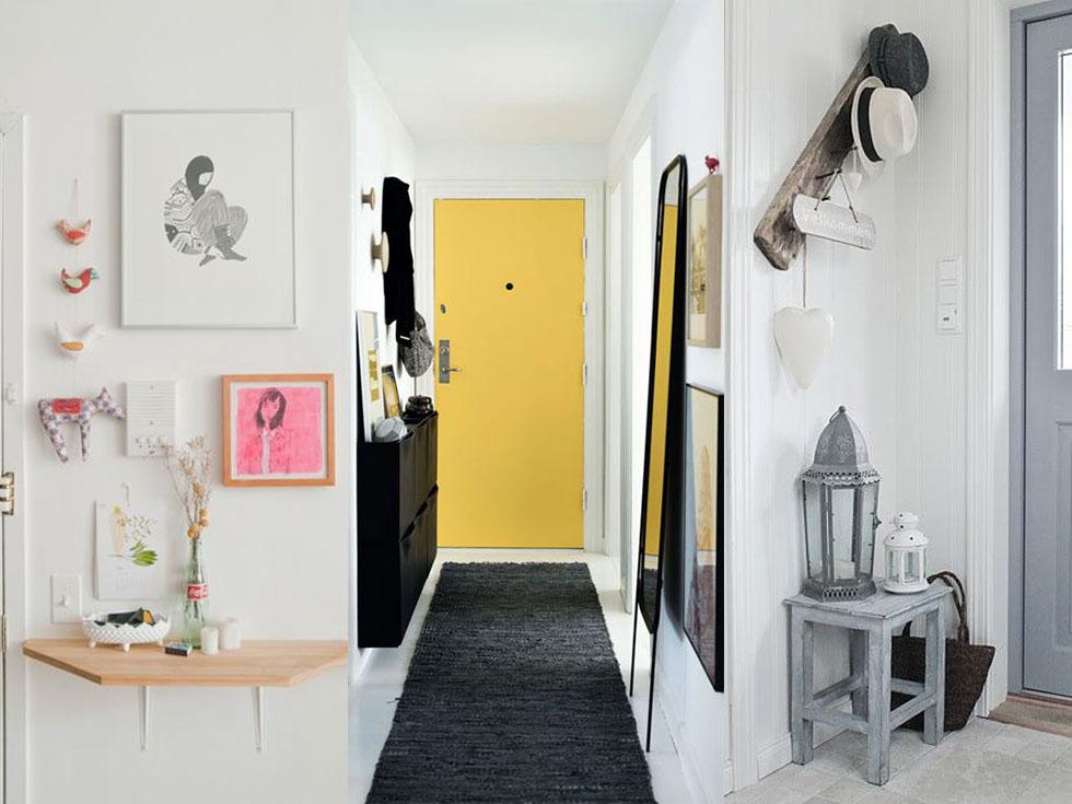 5 ideas sobre c mo decorar un recibidor peque o - Pintar un recibidor ...