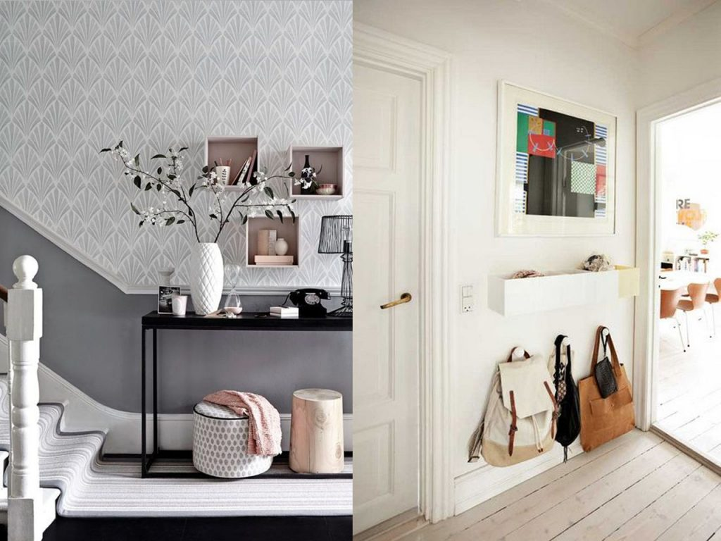 5 ideas sobre c mo decorar un recibidor peque o for Decoracion para interiores pequenos