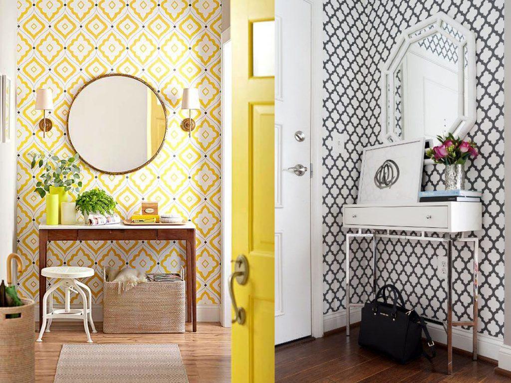 5 ideas sobre c mo decorar un recibidor peque o for Papel pintado recibidor