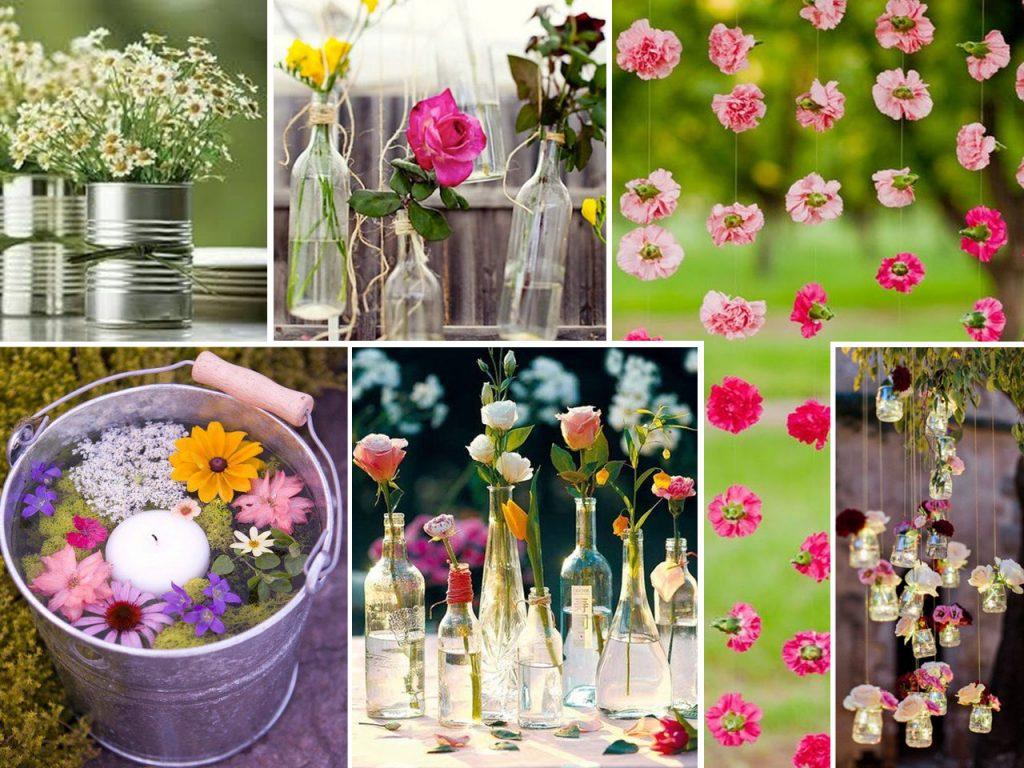 flores para fiestas al aire libre
