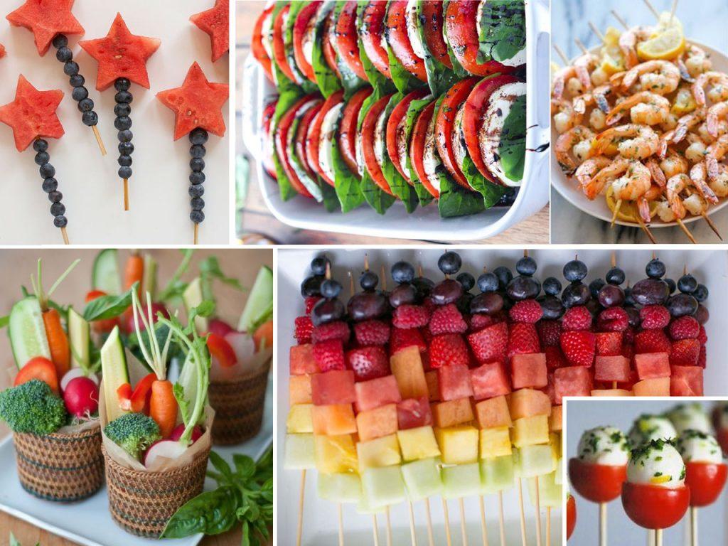 comida para fiestas al aire libre