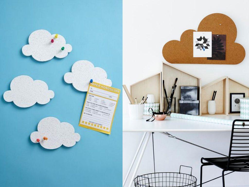 9 ideas de decoraci n con nubes para tu hogar - Paredes infantiles originales ...