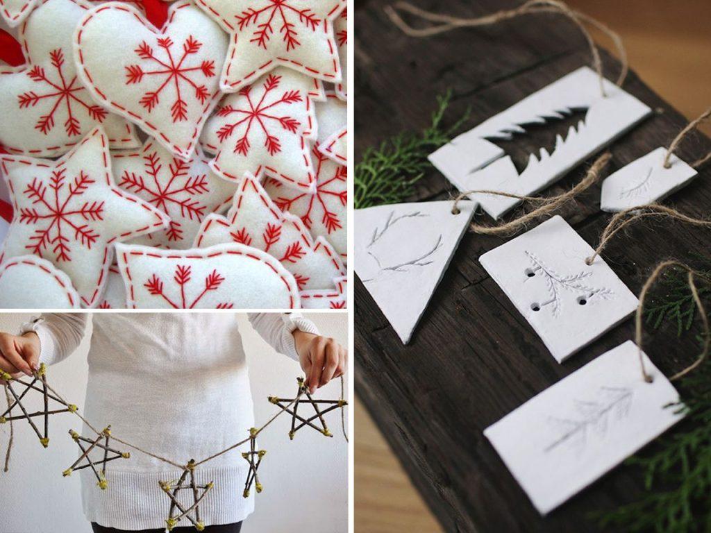 detalles decoración navideña nórdica