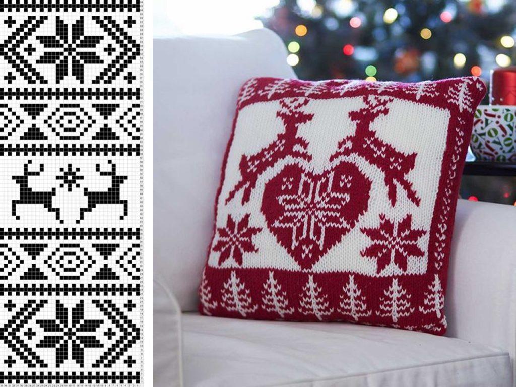 telas decoración navideña nórdica