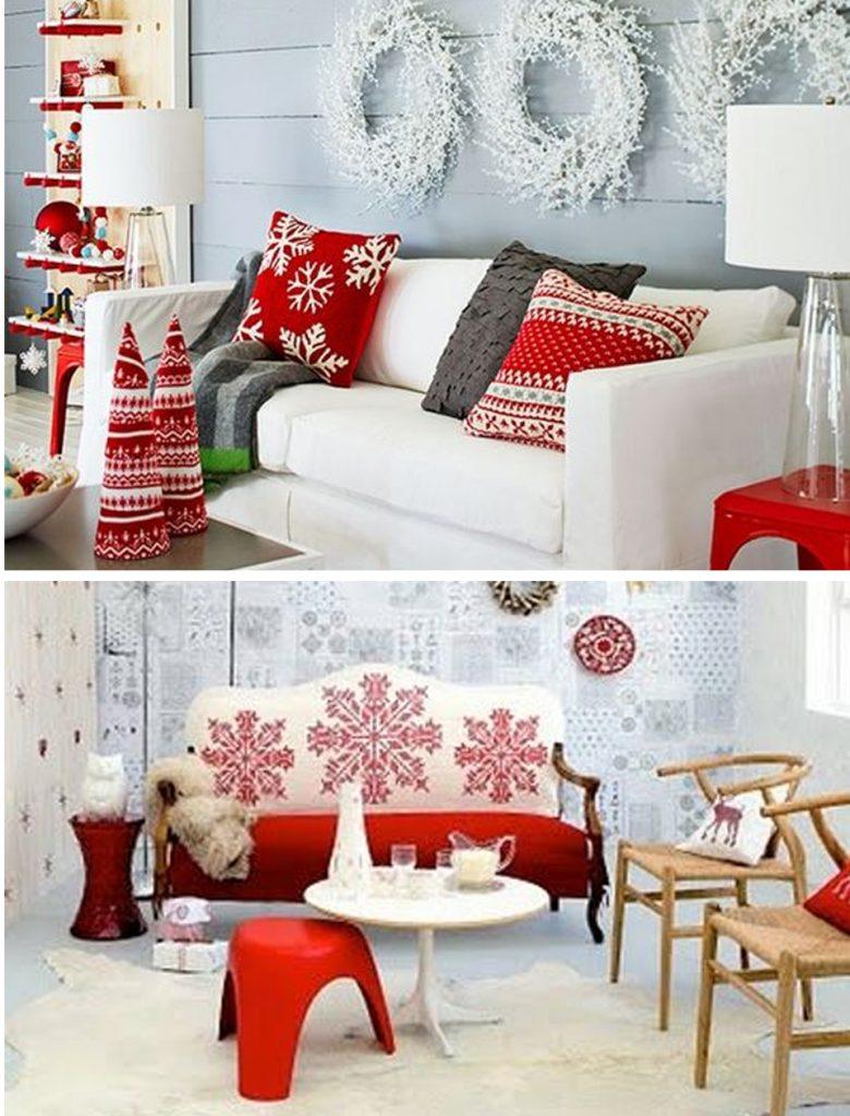 colores decoración navideña nórdica