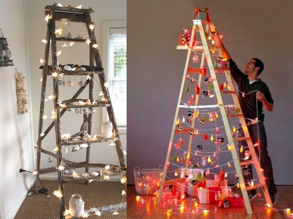 Escalera árbol de Navidad