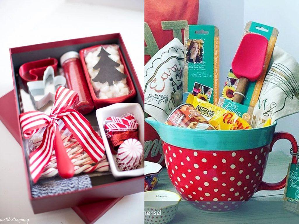 caja repostería regalos Navidad DIY