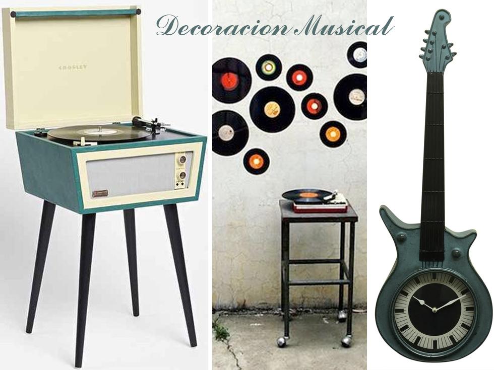 Decoración musical: ideal para cualquier melómano