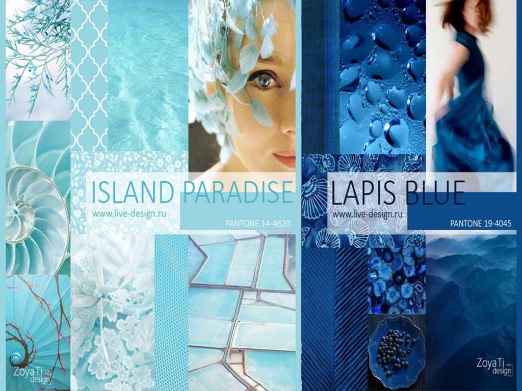 colores Pantone para primavera 2017 island paradise lapis blue