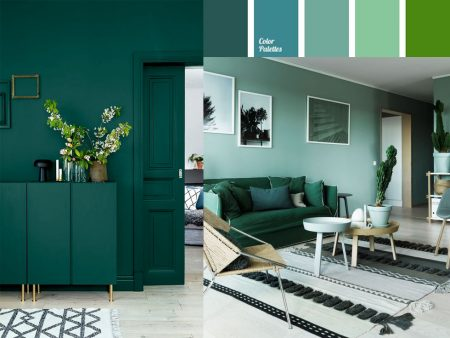 decorar en color verde