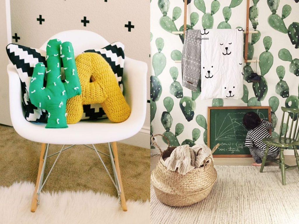 complementos decoración detalles cactus