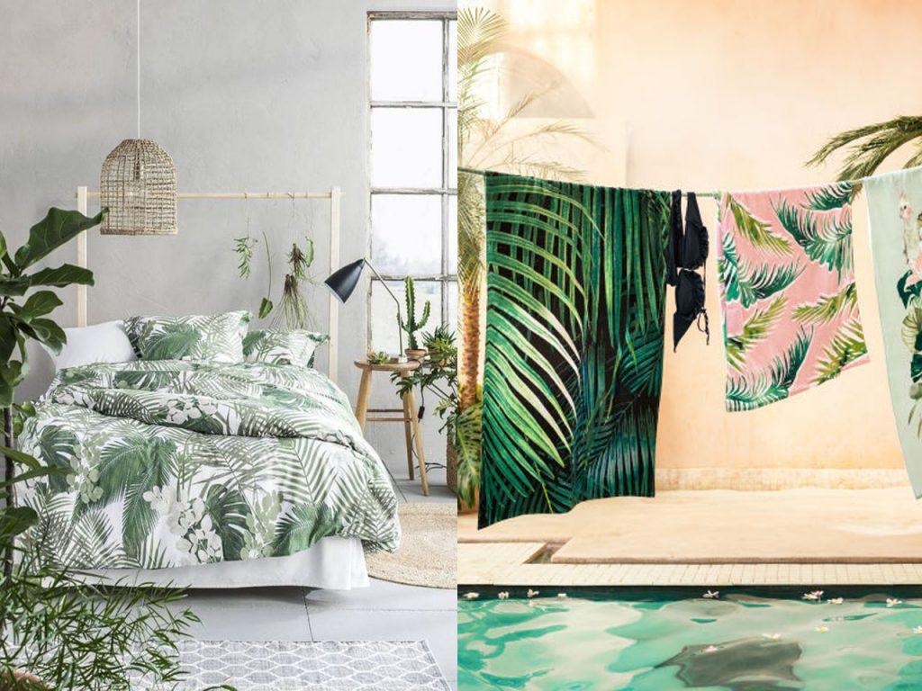 complementos decoración color verde