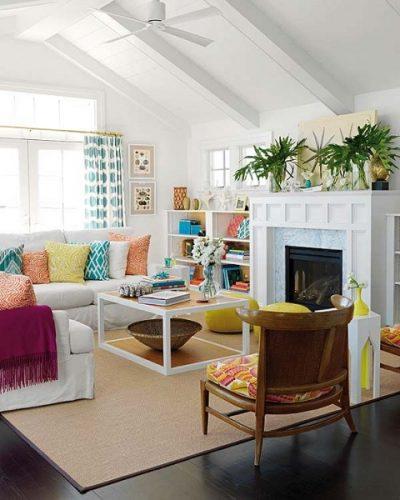 color y la decoración fresca