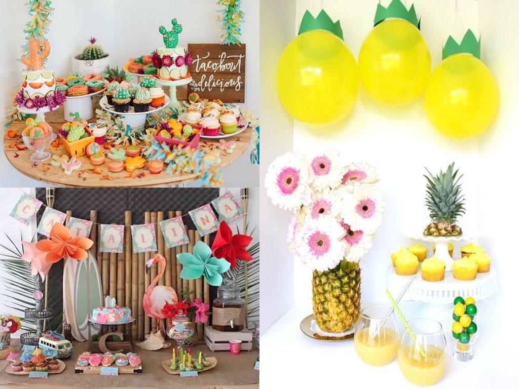 Las mejores ideas para una fiesta tropical durante este verano - Cosas para decorar una fiesta ...